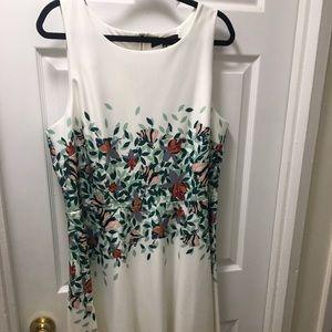 Fit & flare scuba dress